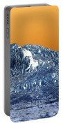 Mountain Abstract  Portable Battery Charger