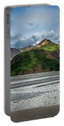 Mountain Across The River Portable Battery Charger