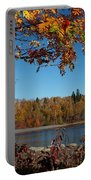 Mountain Ash In Autumn Portable Battery Charger