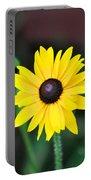 Mountain Daisy Yellow Portable Battery Charger