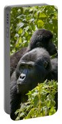 Mountain Gorilla With Infant  Portable Battery Charger