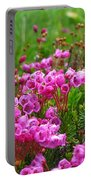 Mountain Heather Portable Battery Charger