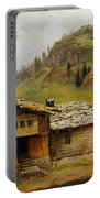Mountain House  Portable Battery Charger by Albert Bierstadt