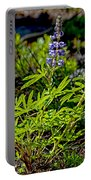 Mountain Lupine Portable Battery Charger