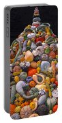 Mountain Of Gourds And Pumpkins Portable Battery Charger
