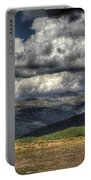 Mountain Panorama Portable Battery Charger