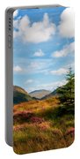 Mountain Pastoral. Rest And Be Thankful. Scotland Portable Battery Charger