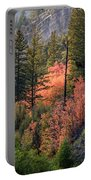 Mountain Side Colors Portable Battery Charger