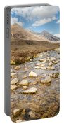 Mountain Stream From Beinn Eighe Portable Battery Charger