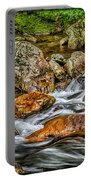 Mountain Stream Rushing After Heavy Rain E134 Portable Battery Charger