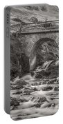 Mountain Stream With Bridge Portable Battery Charger