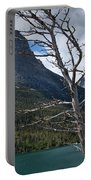 Mountain View At Glacier National Park Portable Battery Charger