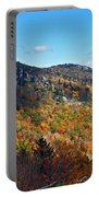 Mountain View From Linn Cove Viaduct Portable Battery Charger