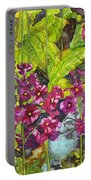 Mountain Wild Flowers Portable Battery Charger