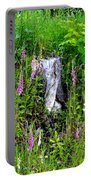 Mountain Wildflowers Portable Battery Charger
