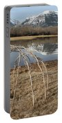 Aboriginal Sacred Sweat Lodge - Waterton Lakes Nat. Park, Alberta Portable Battery Charger