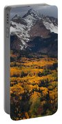 Mountainous Storm Portable Battery Charger