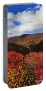 Mountains At Graveyard Fields Portable Battery Charger
