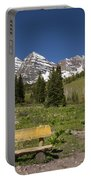 Mountains Co Maroon Bells 24 Portable Battery Charger