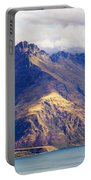Mountains Meet Lake #6 Portable Battery Charger