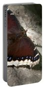 Mourning Cloak Butterfly Portable Battery Charger