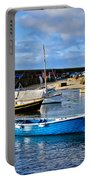 Mousehole Harbour Morning Portable Battery Charger