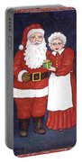 Mr And Mrs Claus Portable Battery Charger