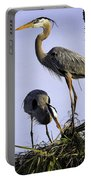 Mr. And Mrs. Heron Portable Battery Charger
