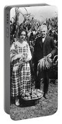 Mr. And Mrs. Luther Burbank Portable Battery Charger