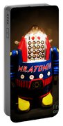 Mr. Atomic Tin Robot Portable Battery Charger