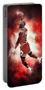 Mr. Michael Jeffrey Jordan Aka Air Jordan Mj Portable Battery Charger