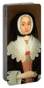 Mrs Lucy Hutchinson, C.1643 Portable Battery Charger