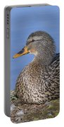 Mrs. Mallard Portable Battery Charger