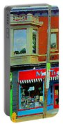 Mrs Tiggy Winkle's Toy Shop And Lost Marbles Richmond Rd The Glebe Paintings Ottawa Scenes C Spandau Portable Battery Charger