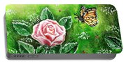 Ms. Monarch And Her Ladybug Friends Portable Battery Charger