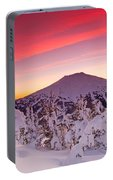 Mt. Bachelor Winter Twilight Portable Battery Charger