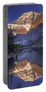 Mt Edith Cavell Reflection Portable Battery Charger