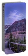 Mt. Edith Cavell Trail At Twilight Portable Battery Charger