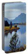 1m9208-mt. Moran And The Snake River, Wy Portable Battery Charger