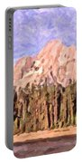 Mt Moran From Colter Bay Portable Battery Charger