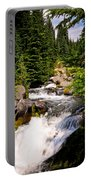 Mt. Rainier Waterfall Portable Battery Charger