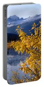 1m3626-mt. Saskatchewan In Fall Portable Battery Charger