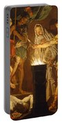 Mucius Scaevola In The Presence Of Lars Porsenna Portable Battery Charger