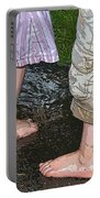 Mud Puddles Portable Battery Charger