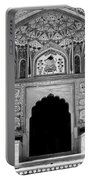 Mughal Art Monochrome Portable Battery Charger