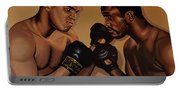 Muhammad Ali And Joe Frazier Portable Battery Charger