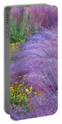 Muhly Grass In The Morning Portable Battery Charger