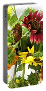 Multi-color Sunflowers Portable Battery Charger