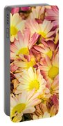 Multi-colored Daisies Portable Battery Charger