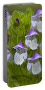 Multi-purple Flowers Portable Battery Charger